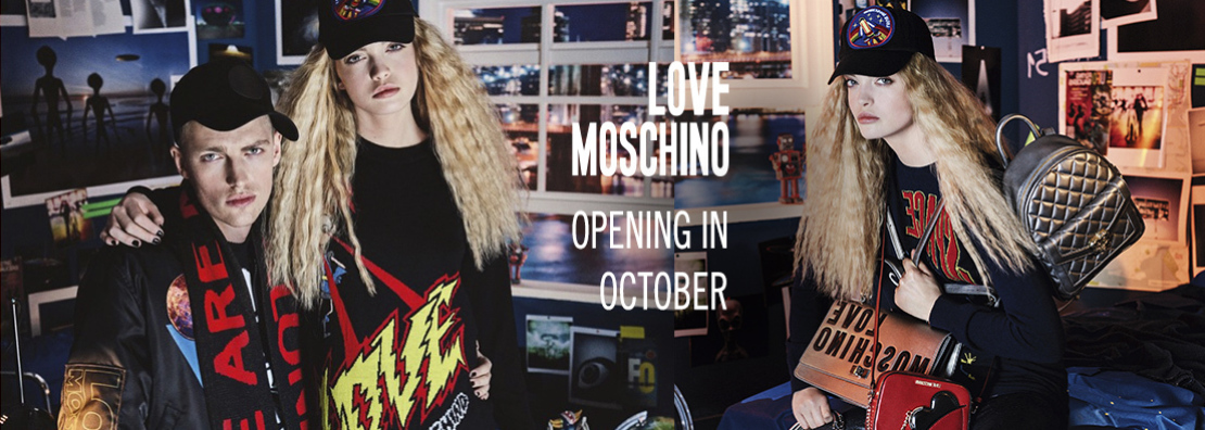 Снимка: Love Moschino opening in October