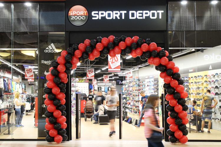 Снимка: Sport Depot с нова локация