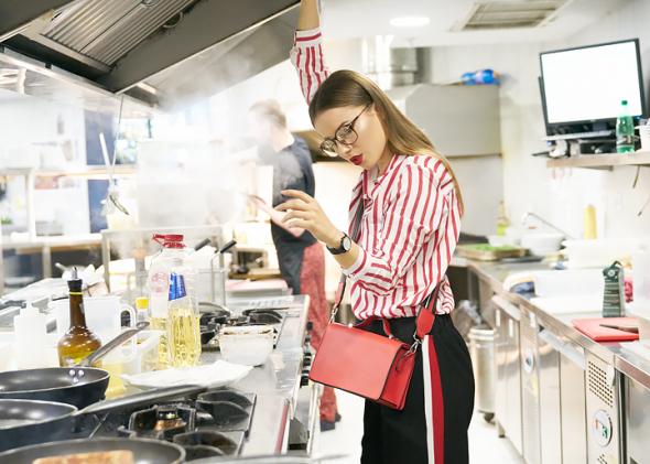 снимка: Любовта към модата, пицата и пастата