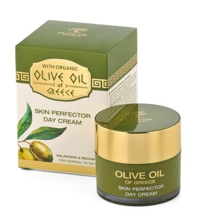 """снимка: Дневен крем за нормална към мазна кожа """"Olive Oil of Greece"""""""
