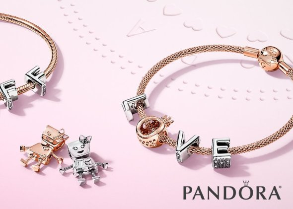 image: Say it with Pandora jewelry
