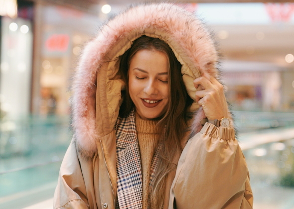 снимка: Уютна зима с розови акценти