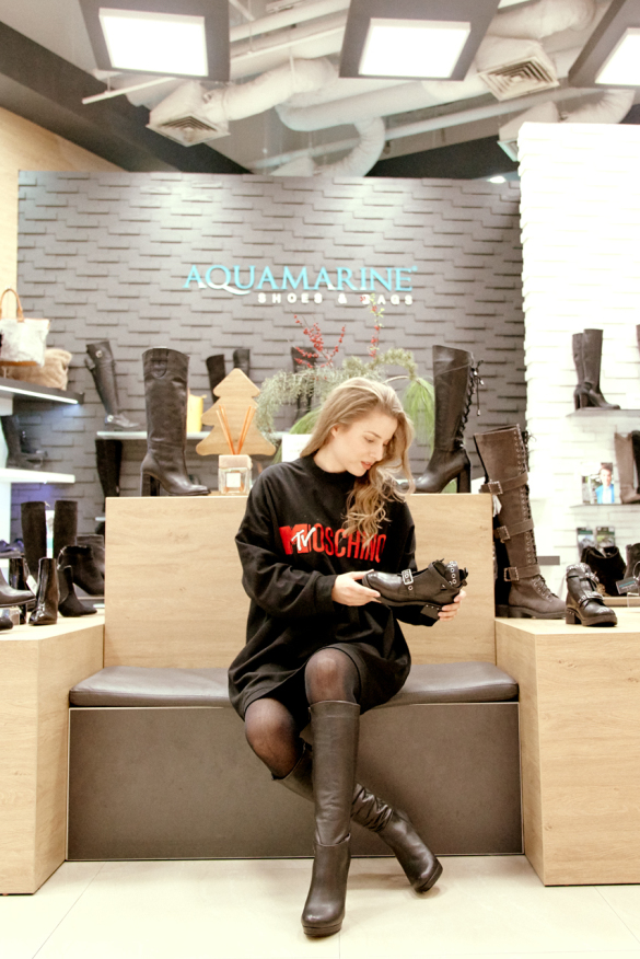 image: Beautiful and comfortable boots and ankle boots by Aquamarine