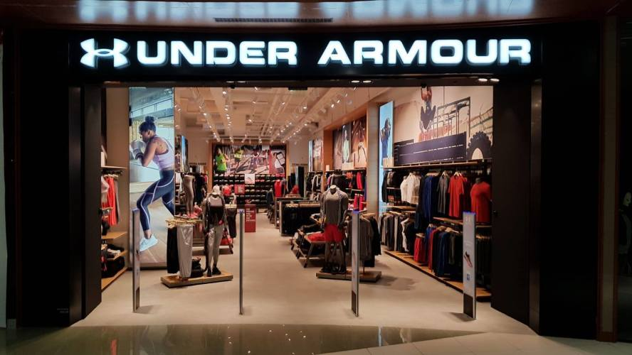 Picture: Under Armour opened at Paradise Center