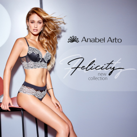 Снимка: Нова колекция от бельо Felicity в Anabel Arto
