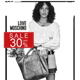 Снимка: 30% НАМАЛЕНИЕ на ВСИЧКО в Love Moschino