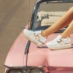 Снимка: Розово дамско пътешествие с Cadillac и HOGAN Maxi H222