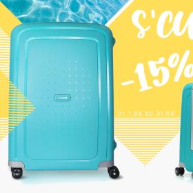 Снимка: Предложение от магазин  Samsonite,  красиви  и практични куфари от серията S'CURE /10U/, с разнообразна палитра от ярки цветове, с -15% отстъпка през месец август