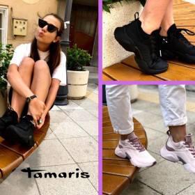 Снимка: Подари си лятно настроение със спортни обувки Tamaris от магазин Kompass