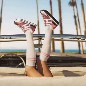 Picture: Розово пътешествие с Cadillac и HOGAN Maxi H222 sneakers SS19