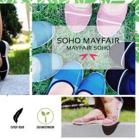 Снимка: Обувките дават на жената възможността да се почувства особена. Soho Mayfair в магазин  KOMPASS