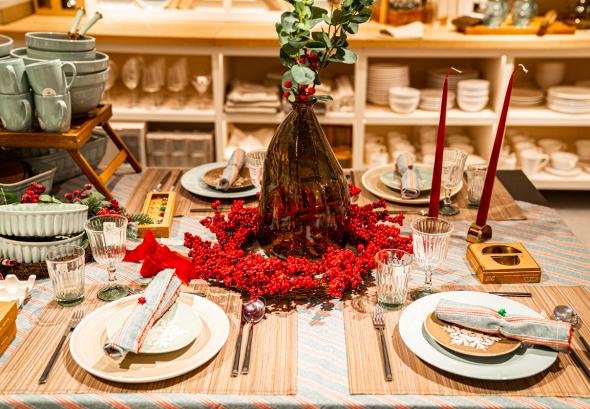 снимка: Коледен дух в Paradise Center