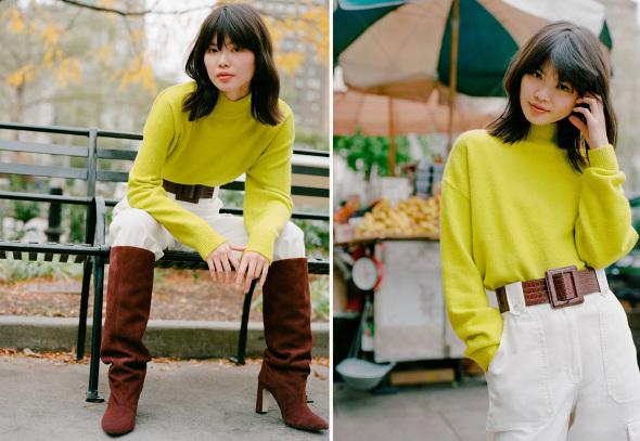 image: 8 great ways to wear a sweatshirt