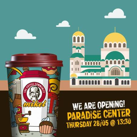 Picture: We are very excited to announce that Mikel Cafe is finally opening at Paradise Center.