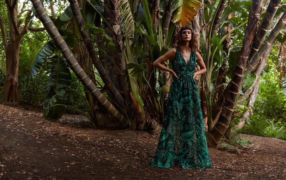 image: Тропическо пътешествие до сърцето на женствеността - това е девизът на колекцията Wild Nature на MOHITO.