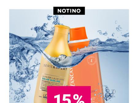 Picutre: - 15% намаление на всички слънцезащитни продукти в магазин Notino!