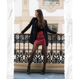 Снимка: Нов геометричен модел за твоите крака - от колекция Есен/Зима 2020/2021 на Goldenpoint!