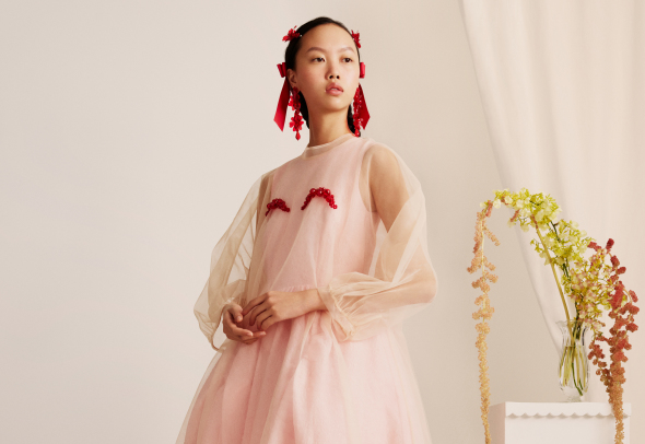 image: Добре дошли в рая: Simone Rocha x H&M - Lookbook