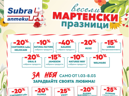 Picutre: Промоции в Аптеки Subra!