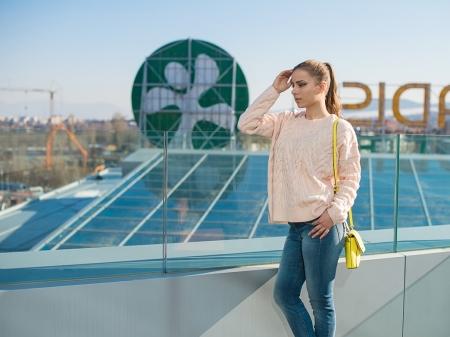 Picutre: Лимонено жълт акцент от DKNY